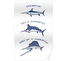 Know Your Swordfish Poster