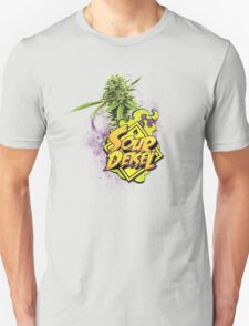 Sour Deisel Marijuana Strain Art T-Shirt
