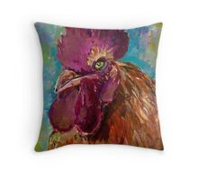The Boss Throw Pillow