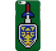 Pixel Fighter's Shield iPhone Case/Skin