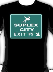 Suplex City Exit T-Shirt