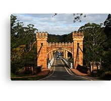 Hampden Brigde Canvas Print