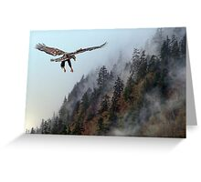 Rising Mist Greeting Card