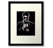 Sin City Matt Murdock [Transparent] Framed Print