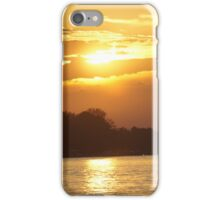 Sunset On The Niagara iPhone Case/Skin