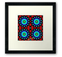 Rose Petals and Beads Framed Print