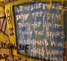 Berlin Wall Art by Jennifer Sands