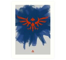 Hylian Art Print