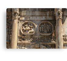 Italy PhotoSketchBook 9-12 Canvas Print