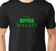 The Bayer Matrix (Green Only) Unisex T-Shirt