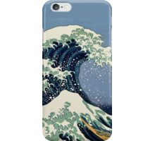 The Great Wave by Katsushika Hokusai iPhone Case/Skin