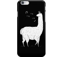 Song Of The Llama iPhone Case/Skin