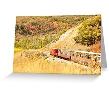 Fall in Provo Canyon Greeting Card