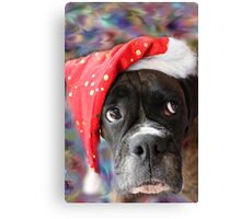 I've Been Good... Where's My Treat? -Boxer Dogs Series- Canvas Print