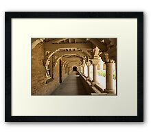 Gothic Tunnel Framed Print