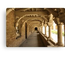 Gothic Tunnel Canvas Print