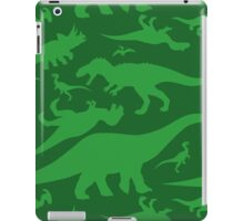 Green Dinosaur Pattern iPad Case/Skin