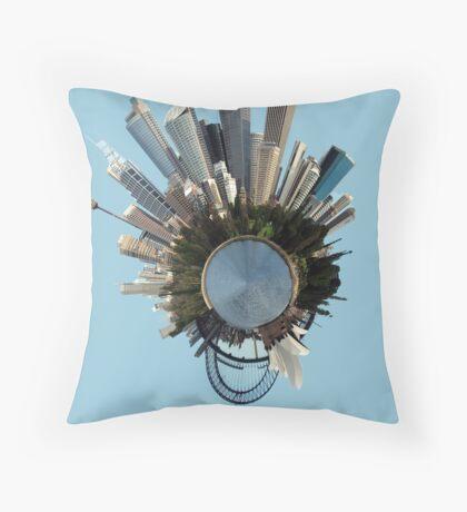 Sydney Polar Panorama Throw Pillow