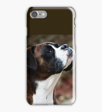Something In the Air -Boxer Dogs Series- iPhone Case/Skin