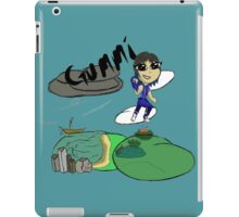 Super Crayon Pop - Gummi iPad Case/Skin