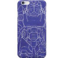 Fallout 4 Blueprint Design iPhone Case/Skin