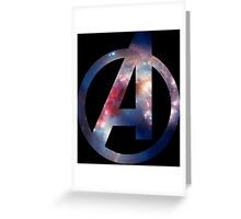 Avenger Space Greeting Card