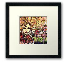 Rainbow Girl Framed Print