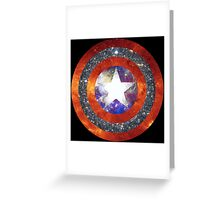 America Space Greeting Card
