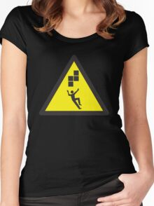 Look Out! Tetris! Women's Fitted Scoop T-Shirt