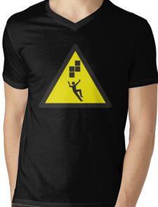 Look Out! Tetris! Mens V-Neck T-Shirt