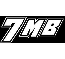 7MB ROH - White Logo Photographic Print