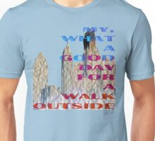 Walk Outside (Oil Painting Style) Unisex T-Shirt