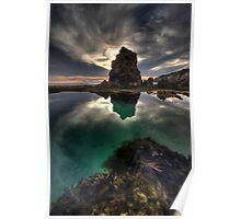 Bridgewater lagoon Sundown Poster