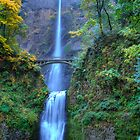 Multnommah Falls by James Hoffman