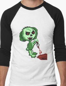 Demon Easter Bunny Men's Baseball ¾ T-Shirt