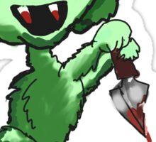 Demon Easter Bunny Sticker