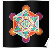 Metatron's Cube - Vibration of Love Poster