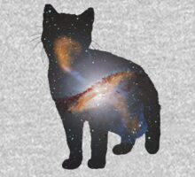 Cat Space One Piece - Short Sleeve