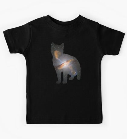 Cat Space Kids Tee