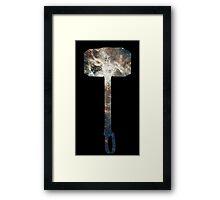 Mjölnir Space Framed Print
