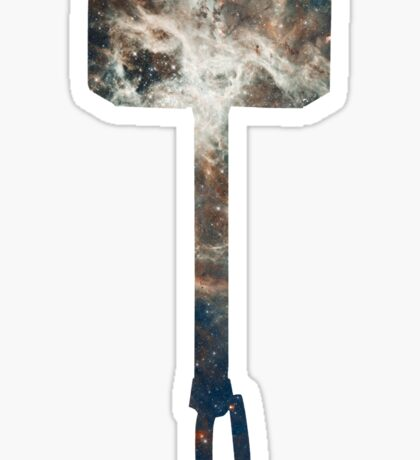 Mjölnir Space Sticker
