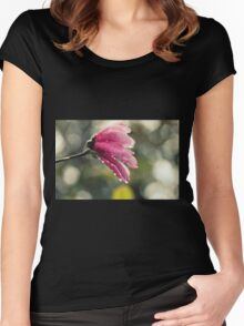 Essence Of Summer Women's Fitted Scoop T-Shirt