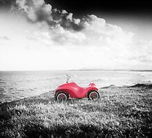 Red Car by Clare Colins