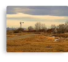 Country Living II Canvas Print