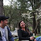 Sitting Around The Campfire by NancyC