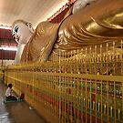 Reclining Buddha - Yangon, Myanmar by Trishy