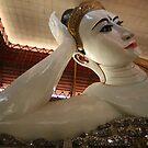 Buddha Reclines - Yangon  by Trishy