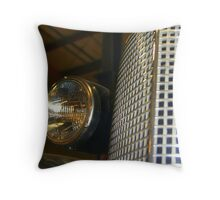 """Cadillac Perspective"" Throw Pillow"