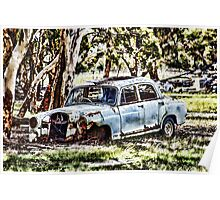 Home among the gumtrees Poster