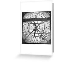 The Clock at Musée d'Orsay Greeting Card